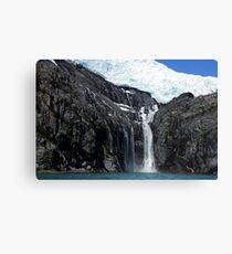 Alaskan Falls Canvas Print