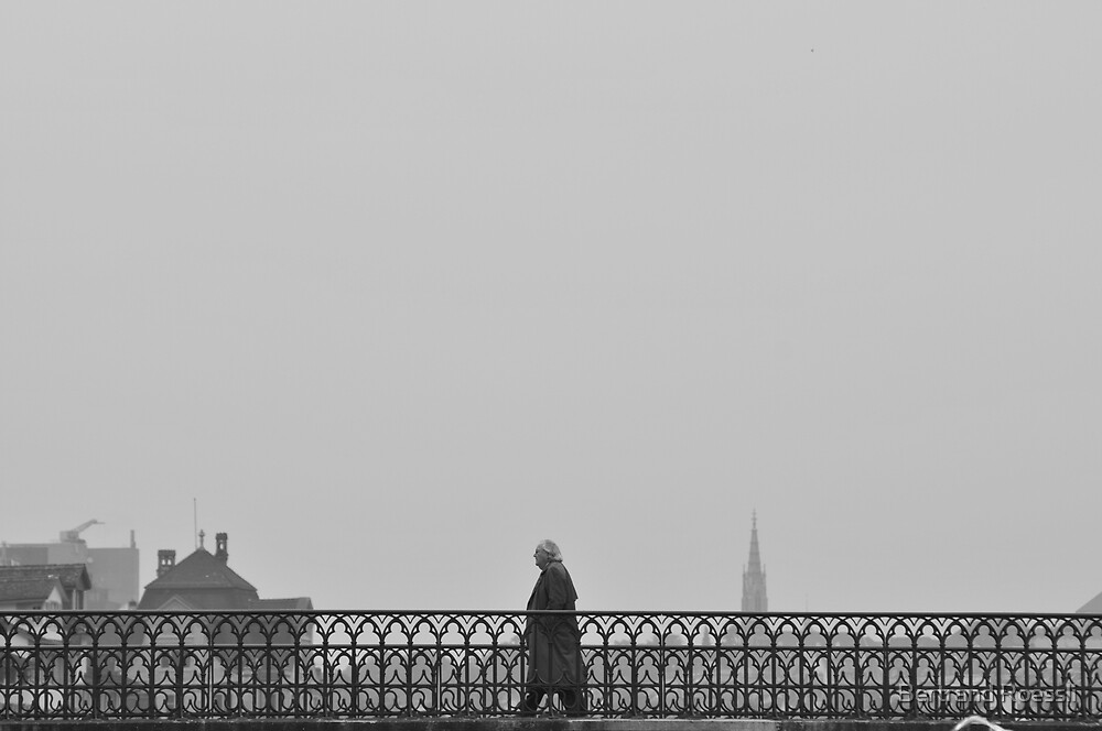 The passer-by by Bertrand Roessli