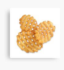 waffle fries Metal Print
