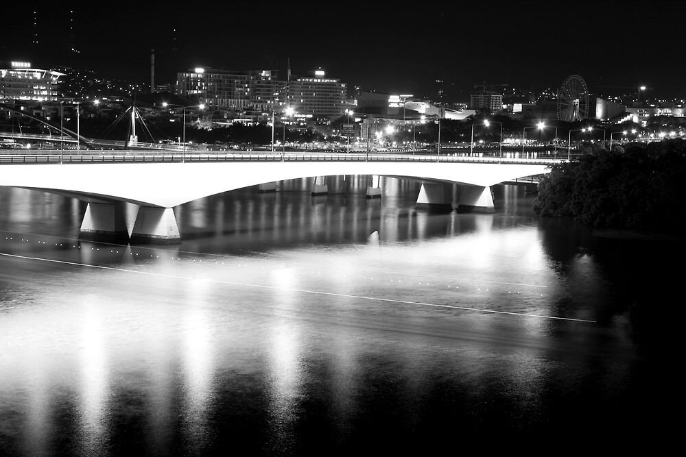 Goodwill Bridge Brisbane by Craig Kasper Photography