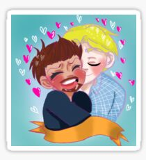 Stony kiss Sticker