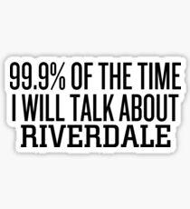 Pegatina 99.9% del tiempo ... Riverdale