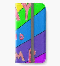Gay and Dumb iPhone Wallet/Case/Skin