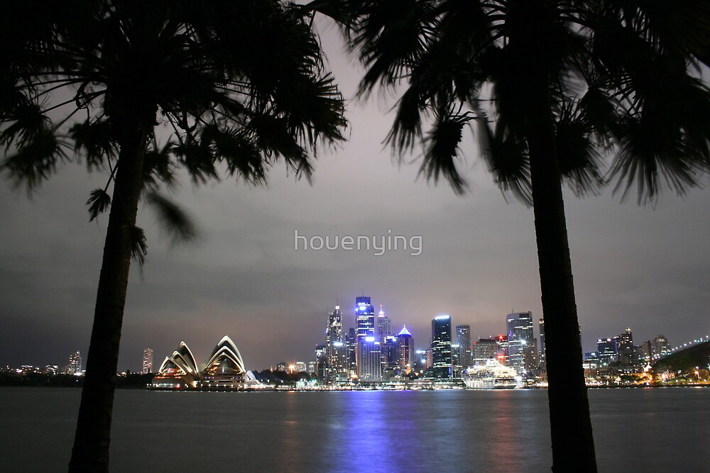 Blue night by houenying