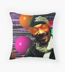 Vaporwave Aesthetic Snoop Dogg Floor Pillow