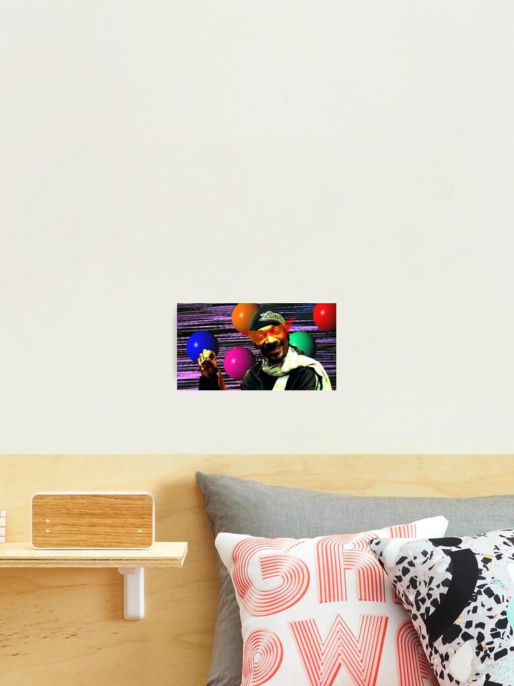 Vaporwave Aesthetic Snoop Dogg Photographic Print By Pkbrendan