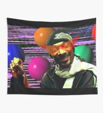 Tela decorativa Vaporwave Esthetic Snoop Dogg