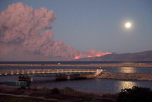 Malibu Fire by mamachip
