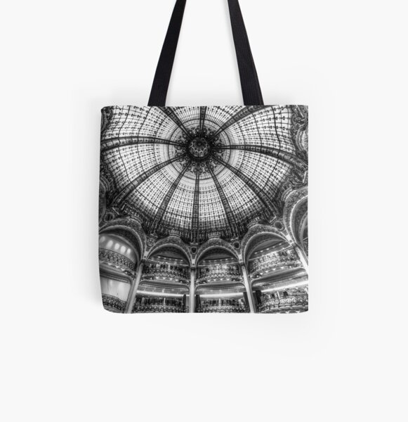 Galeries Lafayette, Paris 3 All Over Print Tote Bag