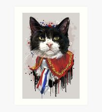 Palmerston - Diplomog Chief Mouser of The Foreign Office Art Print