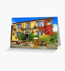 Cheers From The Woolpack Emmerdale Greeting Card
