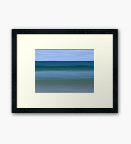 Aquamarine 2 Framed Print
