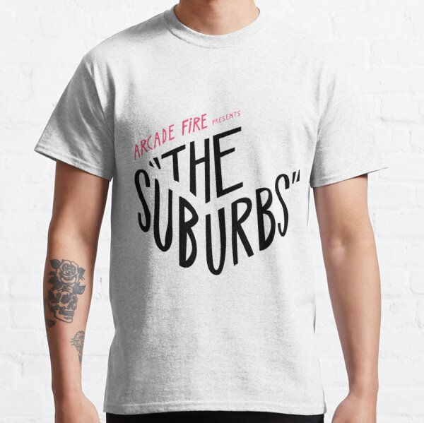 Arcade fire The suburbs logo Classic T-Shirt