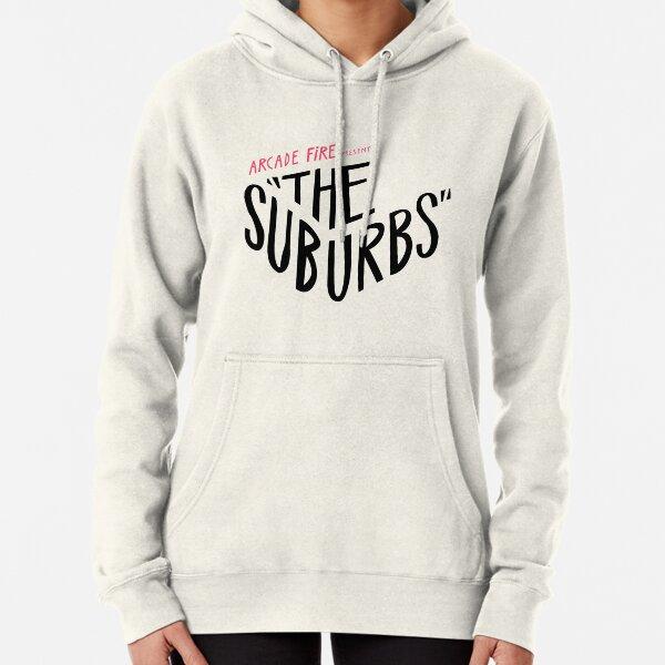 Arcade fire Le logo de la banlieue Sweat à capuche épais