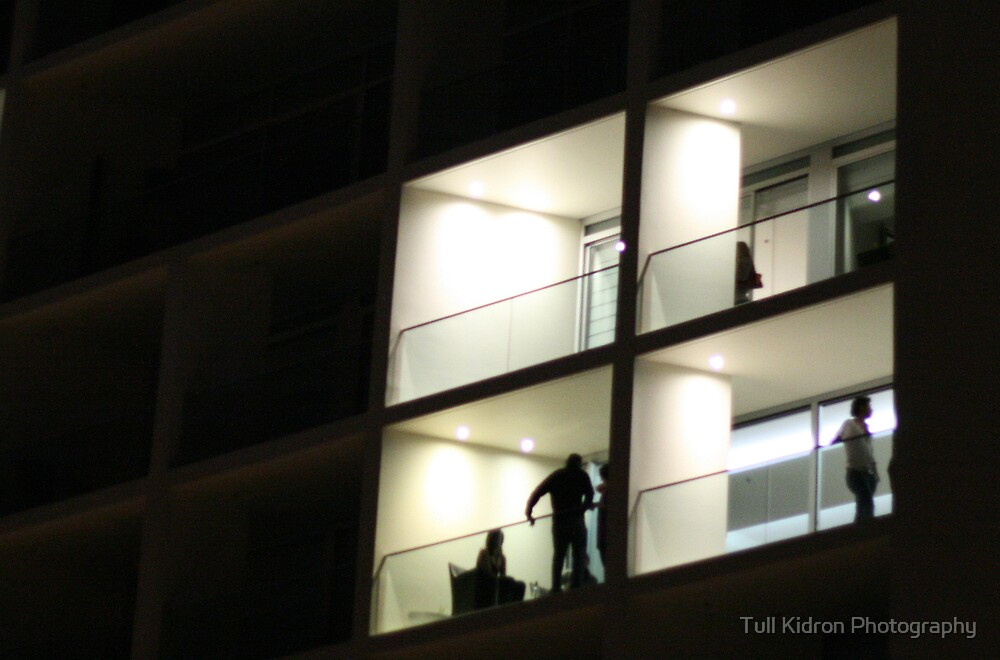 Balcony Night Scene (2008) by Tull Kidron Photography