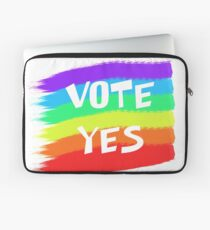 Vote Yes Laptop Sleeve