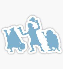 Hitch Hiking Ghosts Sticker