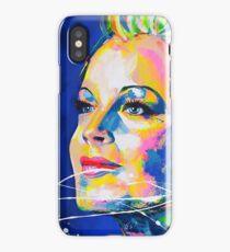 Romy Schneider - Artpainting iPhone Case