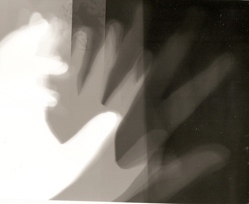Hand Photogram by nategan