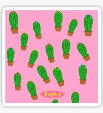 Face The Cactus  Sticker