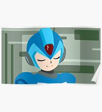 Megaman Sleep Poster