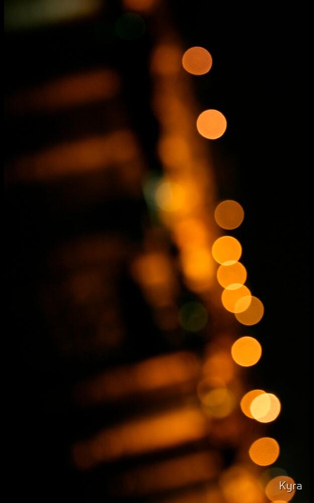 Kangaroo lights 1 by Kyra  Webb