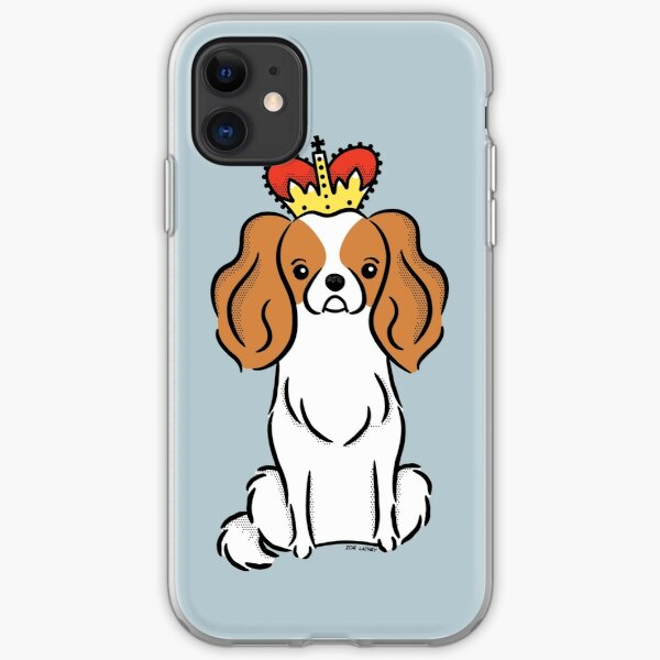 Cavalier King Charles Spaniel Puppy Dog  iPhone Soft Case