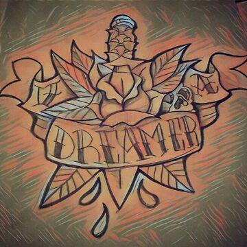 Sword and Rose Dreamer  by juartdesign