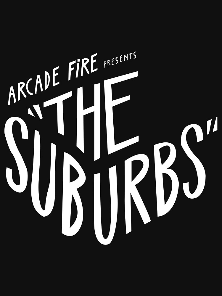 Arcade fire The Suburbs logo | Unisex T-Shirt