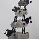 Ewe Beaut Christmas Tree by TraceyMackieArt