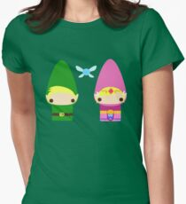 Gnome Link and Zelda Womens Fitted T-Shirt