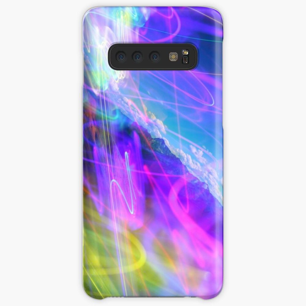 """Where Light and Matter Birth the Rainbow"" Case & Skin for Samsung Galaxy"