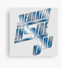 Klendathu was an inside job Canvas Print