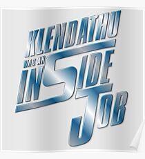 Klendathu was an inside job Poster