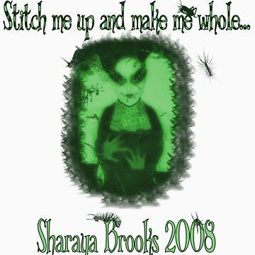 Stitches Bug/green Shirt by Sharaya