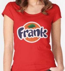 Frank Ocean Fanta Logo Blonde Women's Fitted Scoop T-Shirt