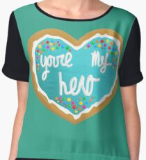 You're my hero Chiffon Top
