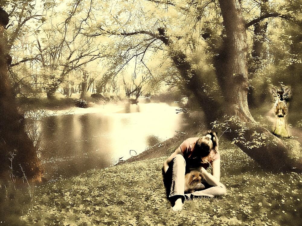 River friends by Judi Taylor