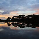 Sunset at Hatchet Pond by Ursula Rodgers Photography