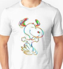 Colorful Snoopy T-Shirt