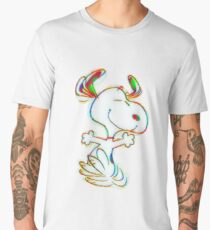 Colorful Snoopy Men's Premium T-Shirt