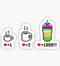 Squishee 8-bit Sticker