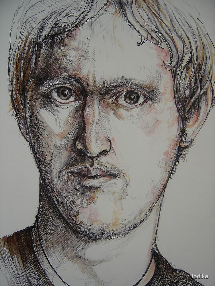 Sketch portrait by Jedika