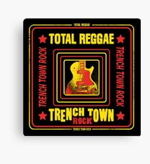 Trench Town Rock Total Reggae Canvas Print