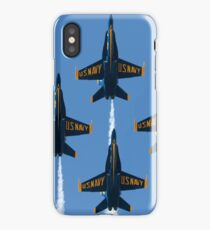 Blue Angels Squadron 2017 iPhone Case/Skin