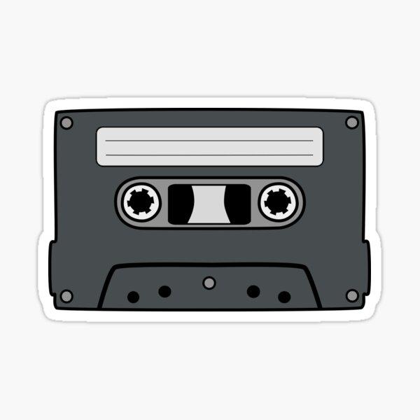 Retro Cassette Sticker