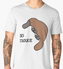 DUCK-BILLED PLATYPUS - SO UNIQUE  Men's Premium T-Shirt