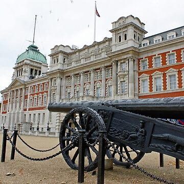 City of London - 200 year old Canon  by RemoKurka