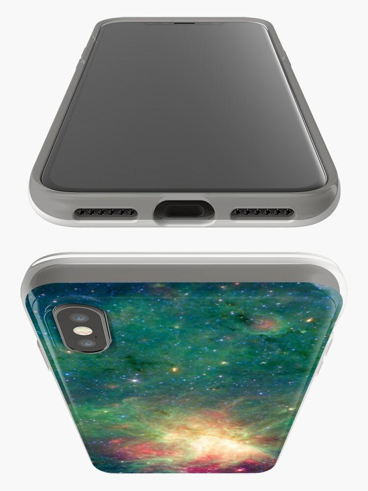 Alternative Ansicht von Abkürzung, Omega-Nebel, Weltraum, Astrophysik, Astronomie iPhone-Hüllen & Cover