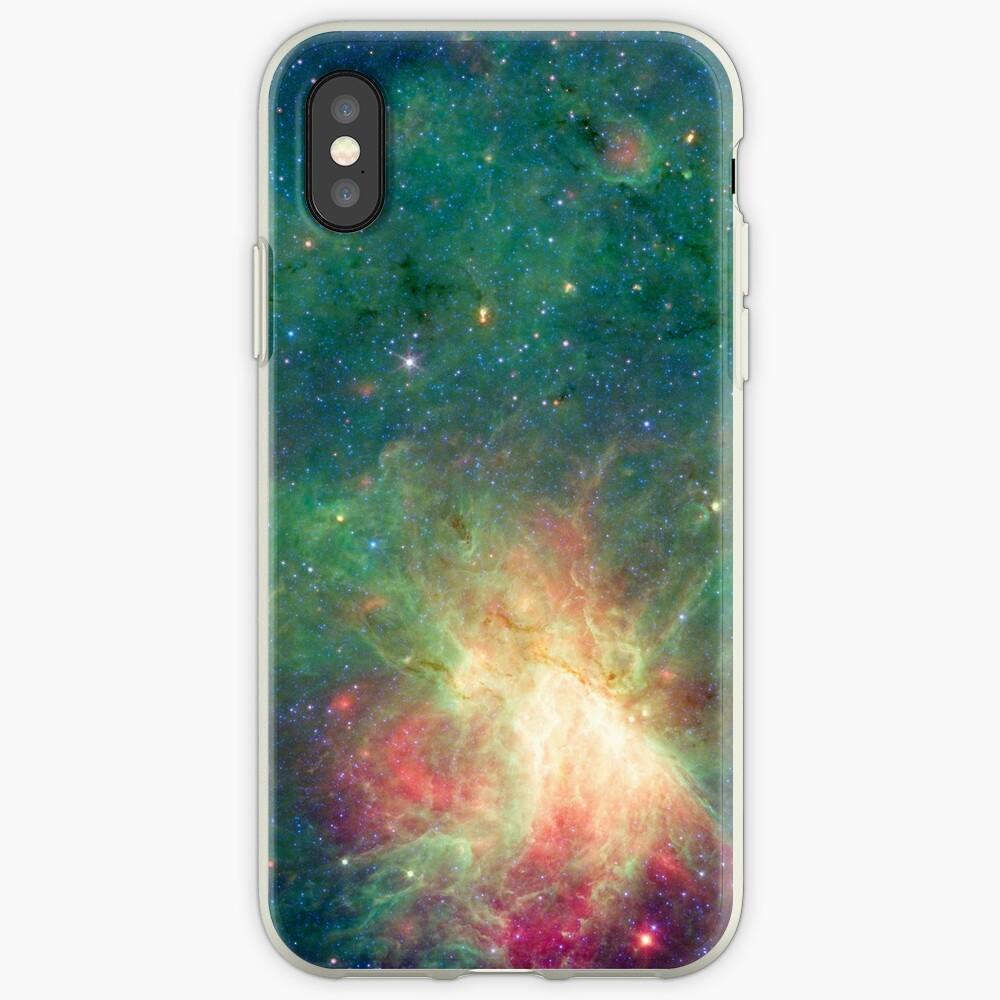 Abkürzung, Omega-Nebel, Weltraum, Astrophysik, Astronomie iPhone-Hüllen & Cover